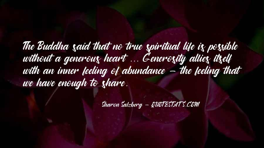Quotes About Feeling Abundance #658056