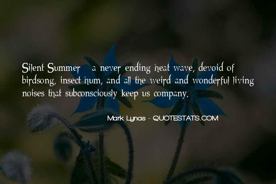 Quotes About Never Ending Summer #474778