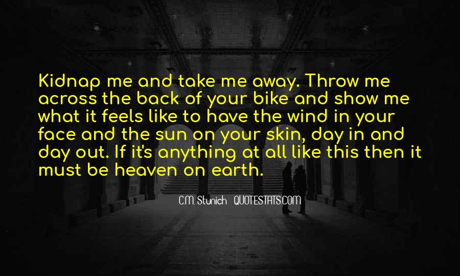 Quotes About The Sun On Your Face #1273106