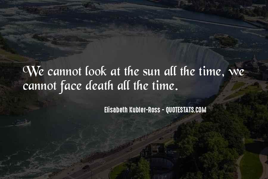 Quotes About The Sun On Your Face #16885