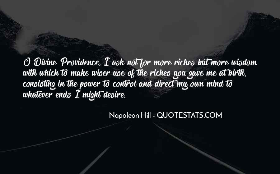 Quotes About Divine Providence #1084424