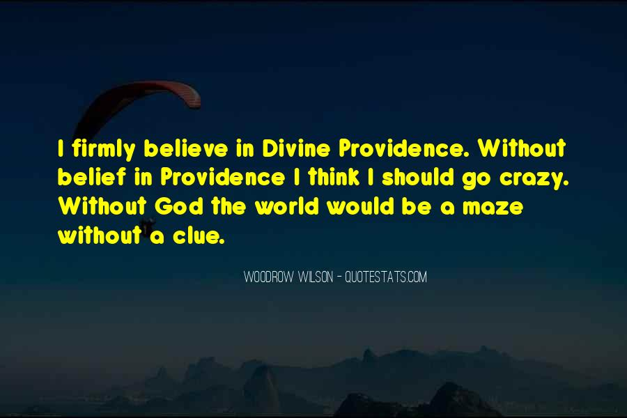 Quotes About Divine Providence #1526837
