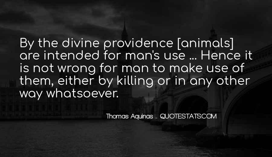 Quotes About Divine Providence #1665550
