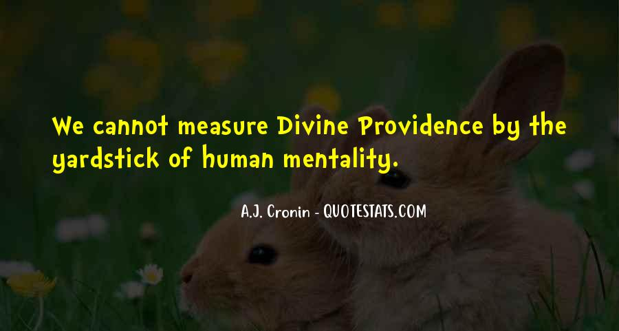 Quotes About Divine Providence #171063