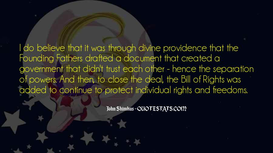 Quotes About Divine Providence #1745137