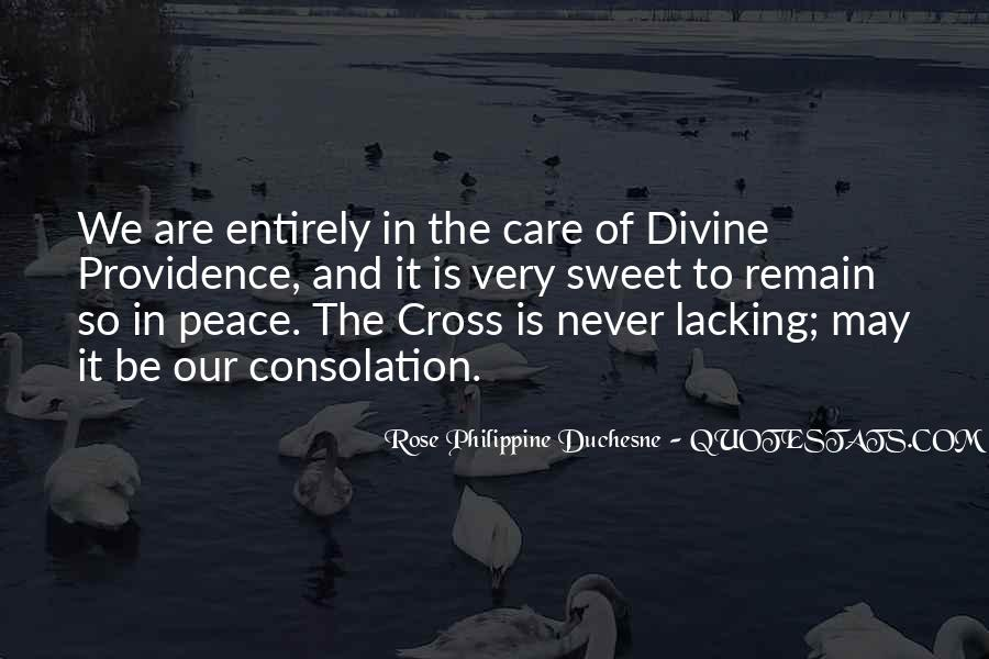 Quotes About Divine Providence #838494