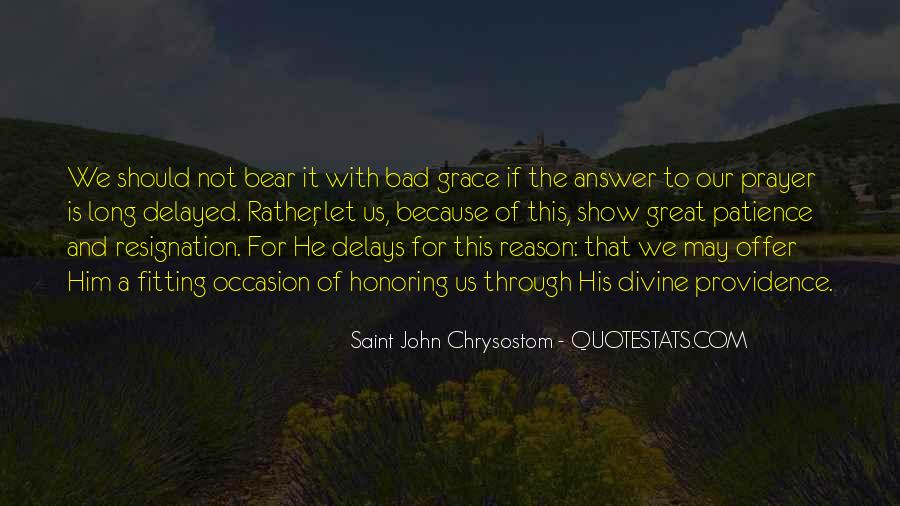 Quotes About Divine Providence #866831