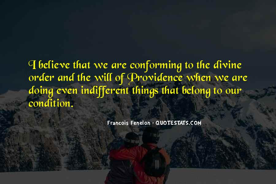 Quotes About Divine Providence #980911