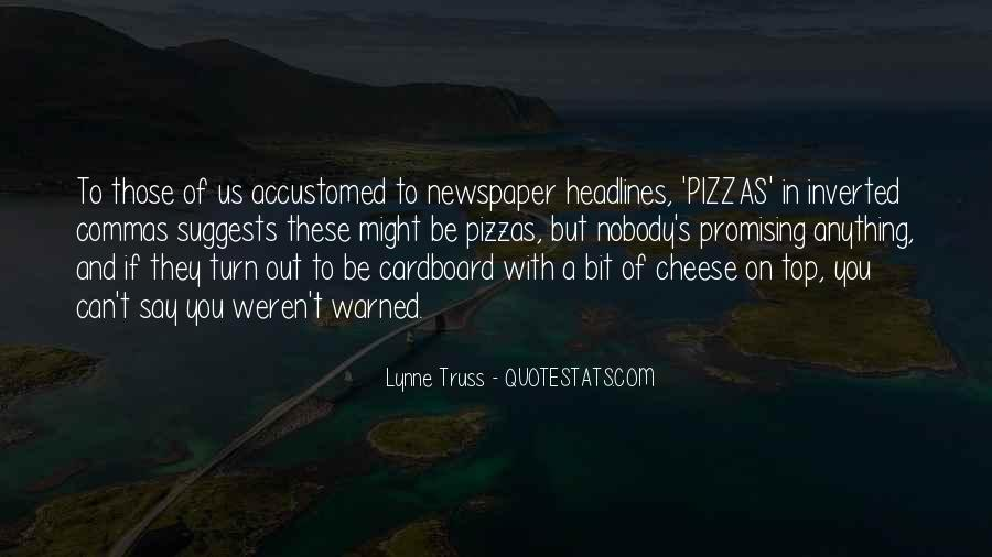 Quotes About Pizzas #1581128