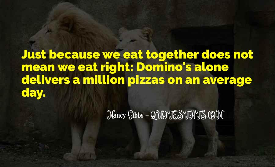 Quotes About Pizzas #651359