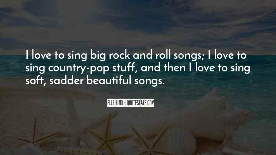 Quotes About Love Rock #207308