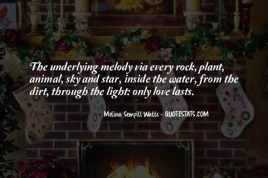 Quotes About Love Rock #236830