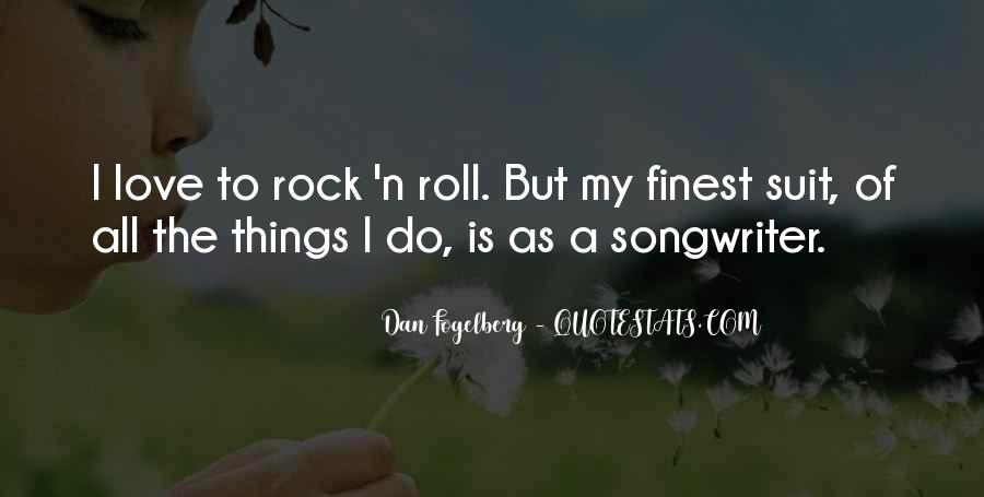 Quotes About Love Rock #327786