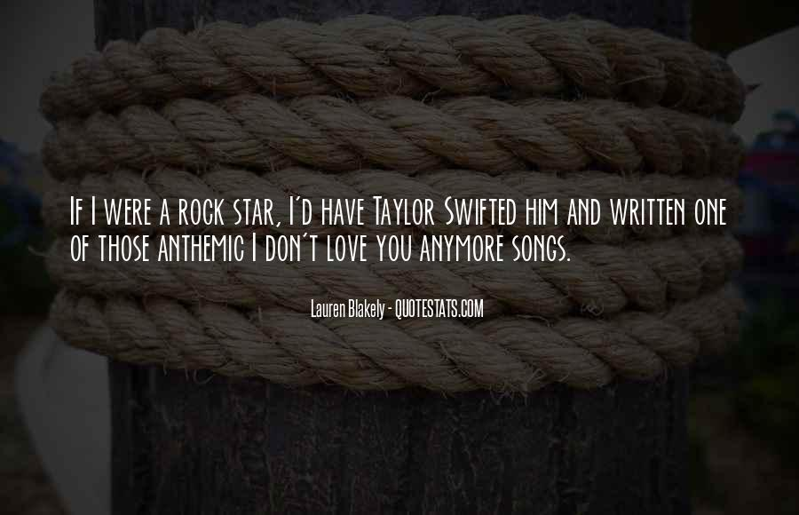 Quotes About Love Rock #380906