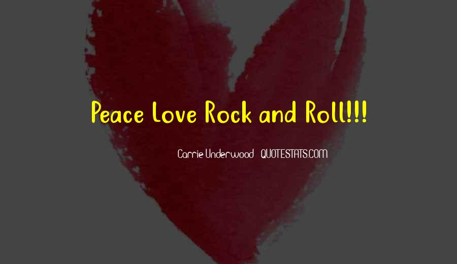 Quotes About Love Rock #457763