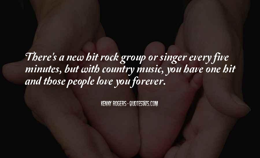 Quotes About Love Rock #52544