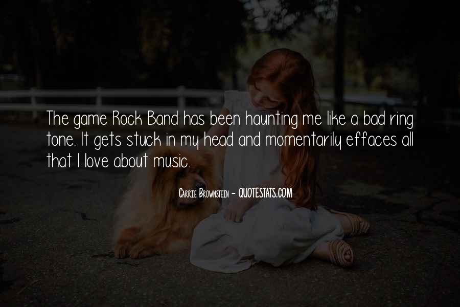 Quotes About Love Rock #65652