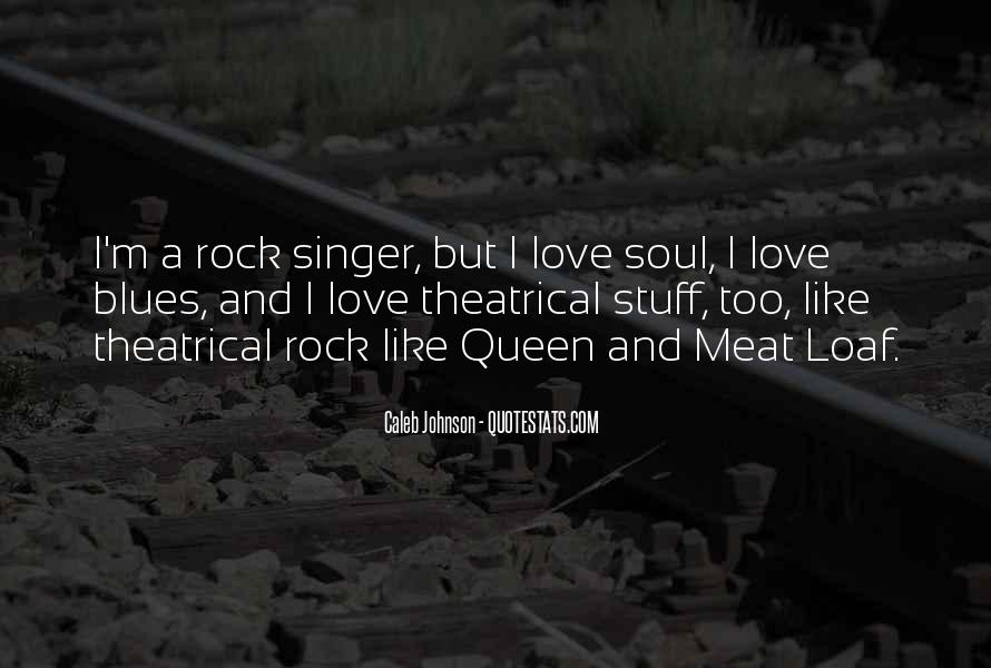 Quotes About Love Rock #71708