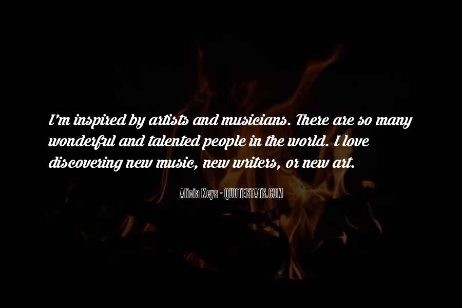 Quotes About Love By Artists #1807400