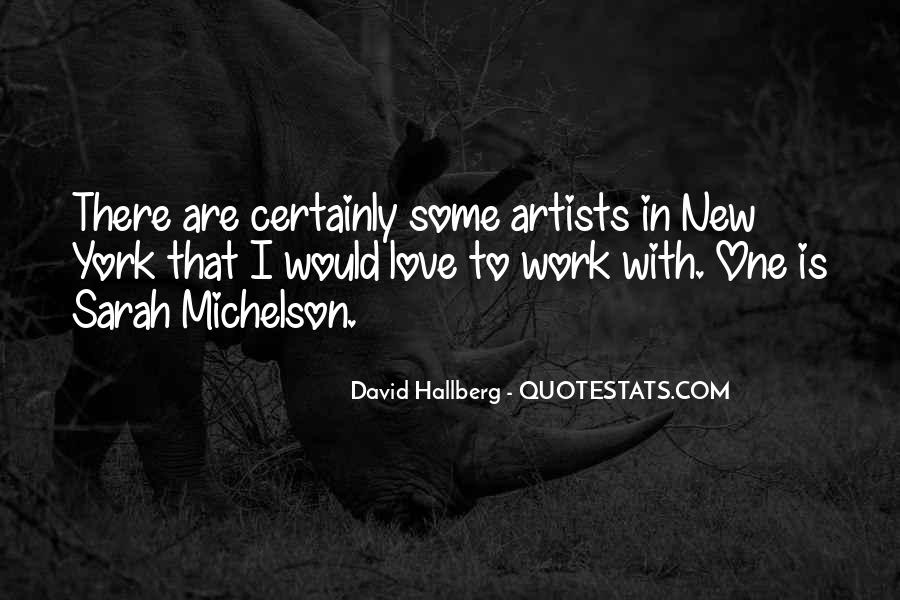 Quotes About Love By Artists #198530