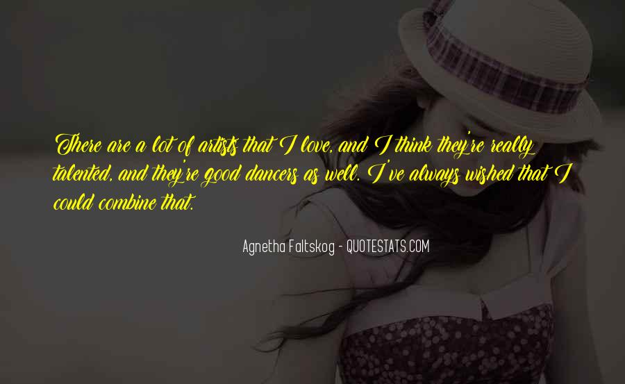 Quotes About Love By Artists #279929
