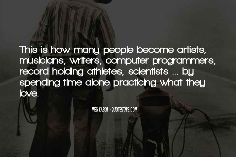 Quotes About Love By Artists #311684