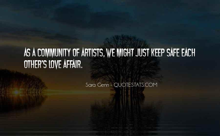 Quotes About Love By Artists #332934