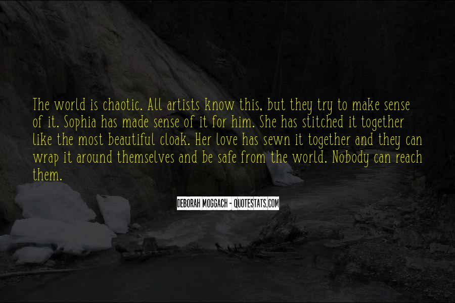 Quotes About Love By Artists #33855