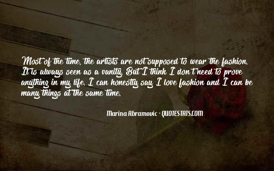 Quotes About Love By Artists #384942