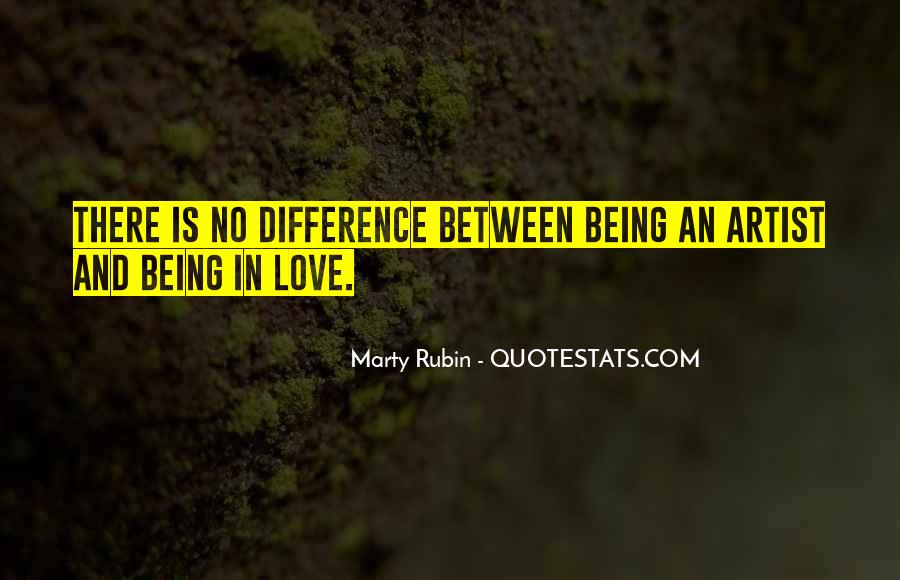 Quotes About Love By Artists #458257