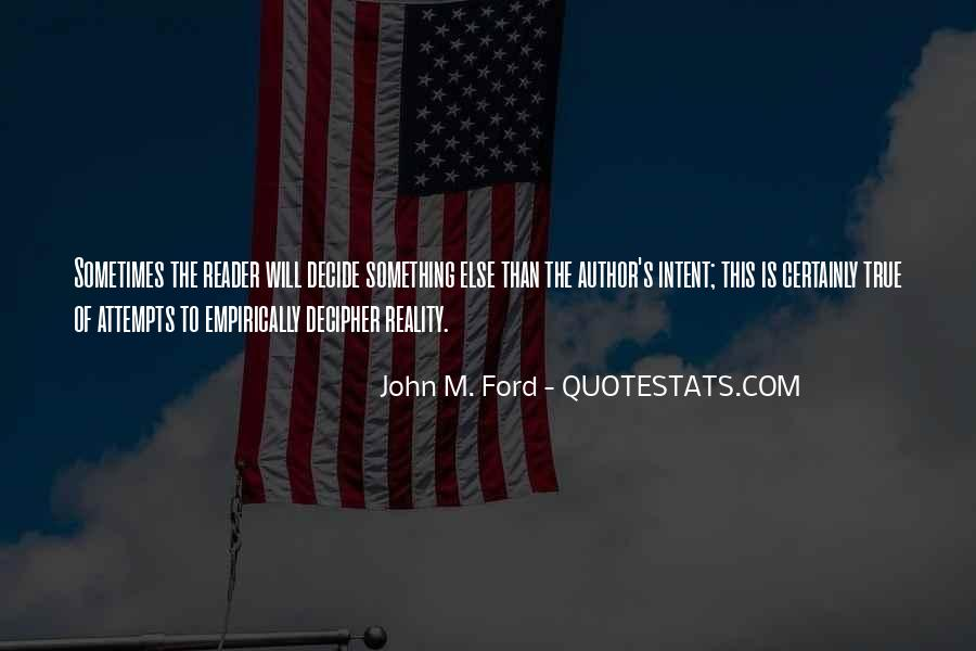 Quotes About Ford #10084