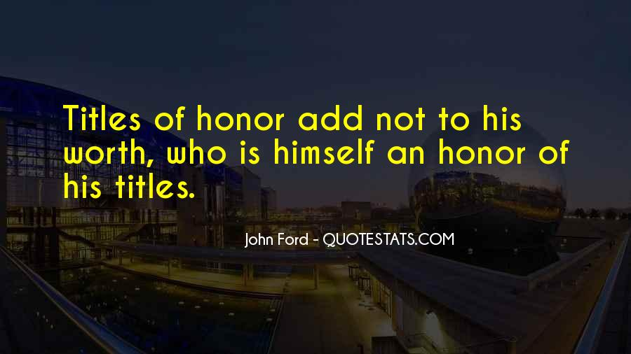 Quotes About Ford #40525