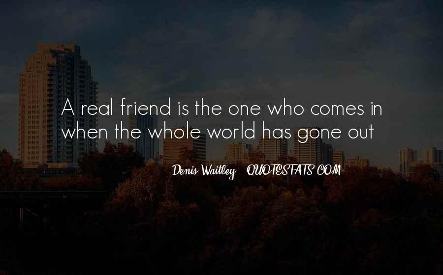 Quotes About What Is A Real Friend #207723