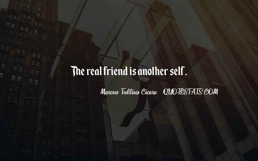 Quotes About What Is A Real Friend #40137