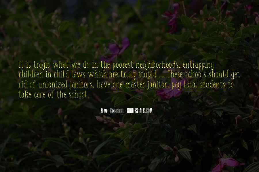 Quotes About School Janitors #1019123