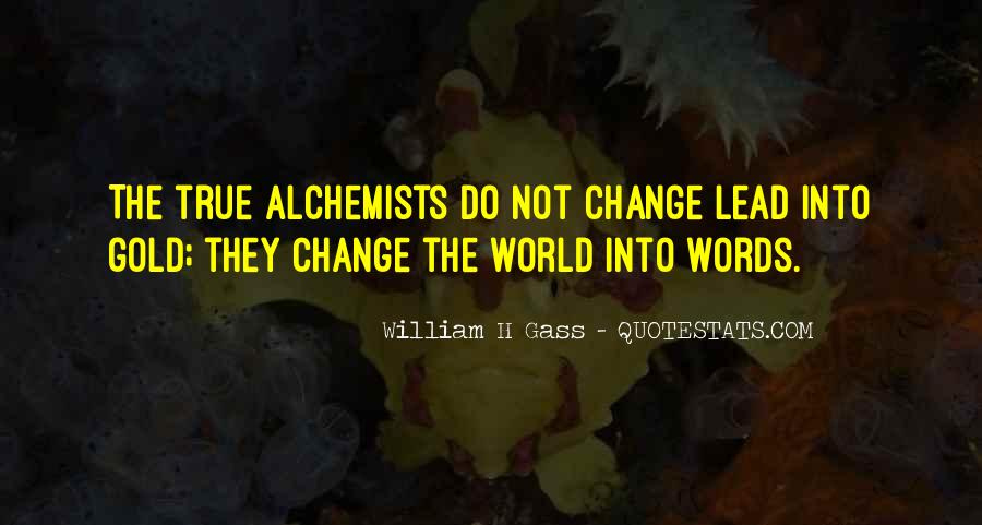 Quotes About World Change #27591