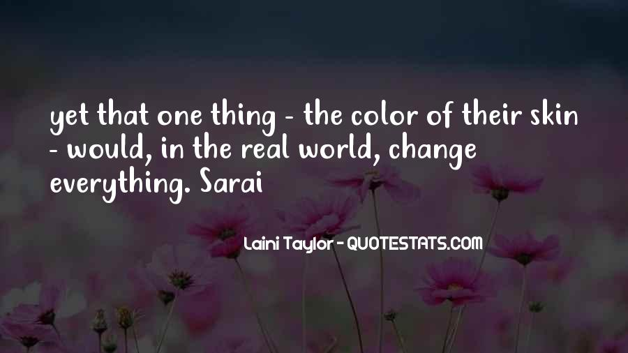 Quotes About World Change #30456