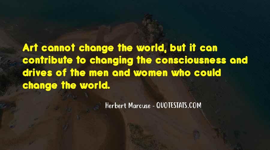 Quotes About World Change #38227