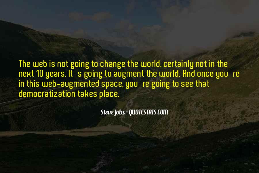 Quotes About World Change #3959