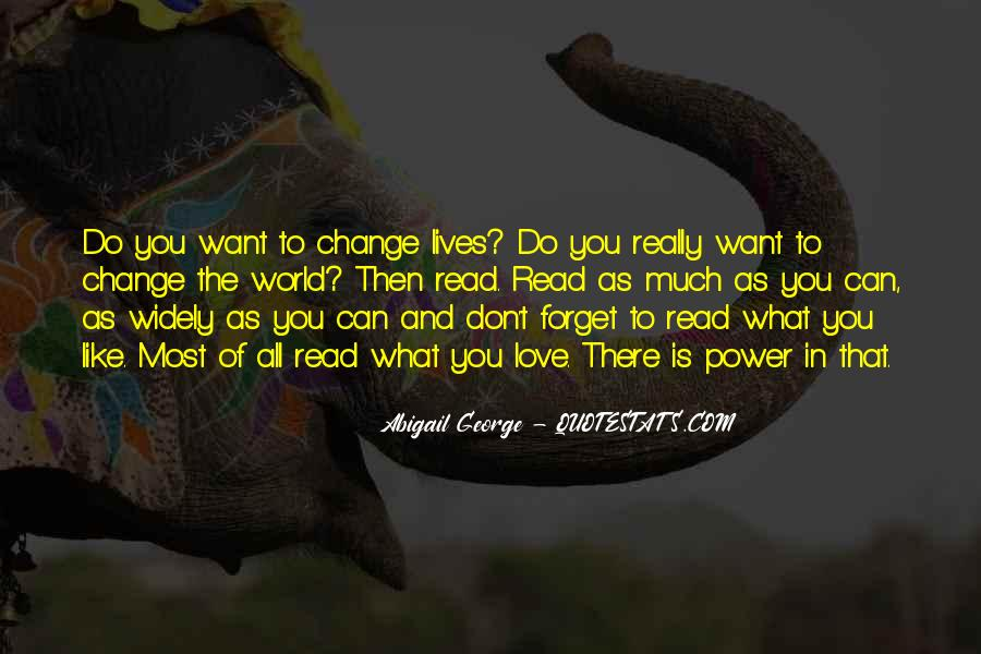 Quotes About World Change #44603