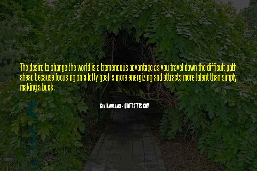 Quotes About World Change #45565