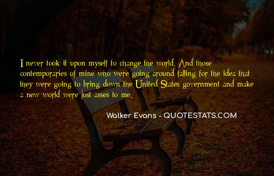 Quotes About World Change #47387