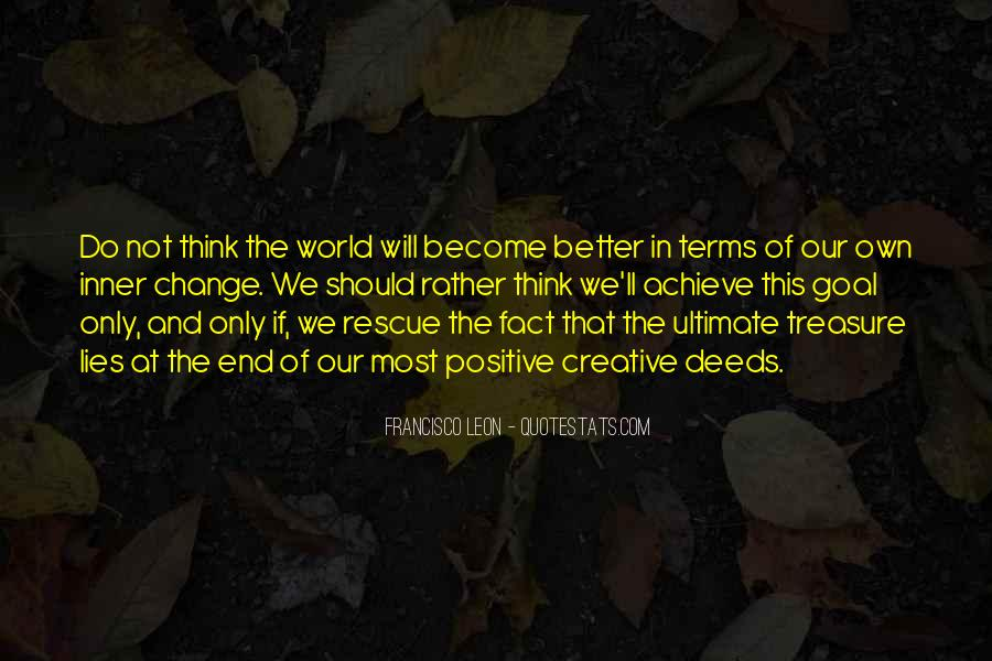Quotes About World Change #49823