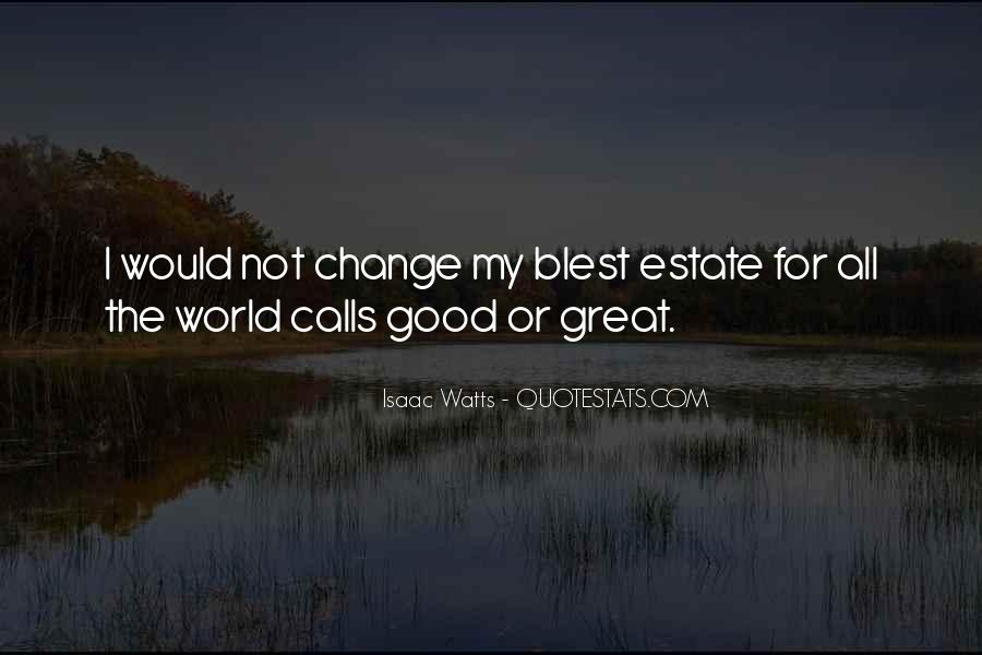 Quotes About World Change #53194