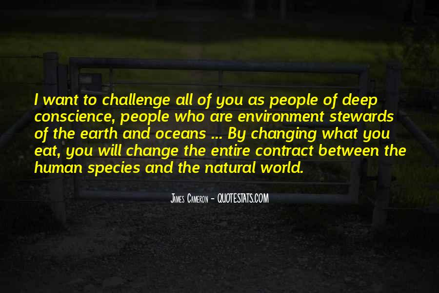 Quotes About World Change #54943