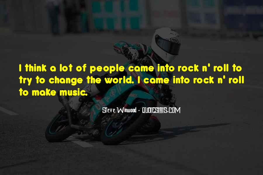 Quotes About World Change #61813