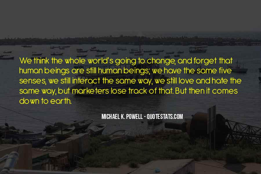 Quotes About World Change #67229