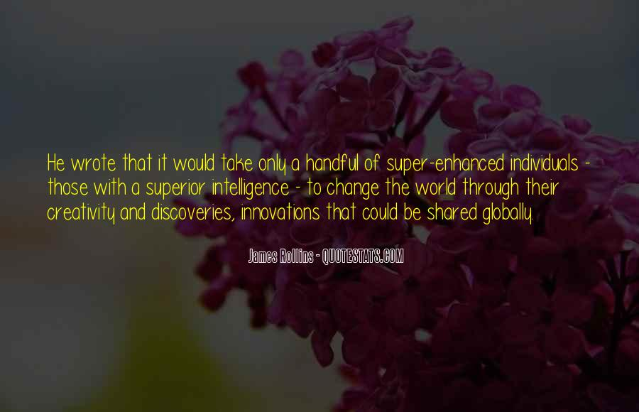 Quotes About World Change #7589