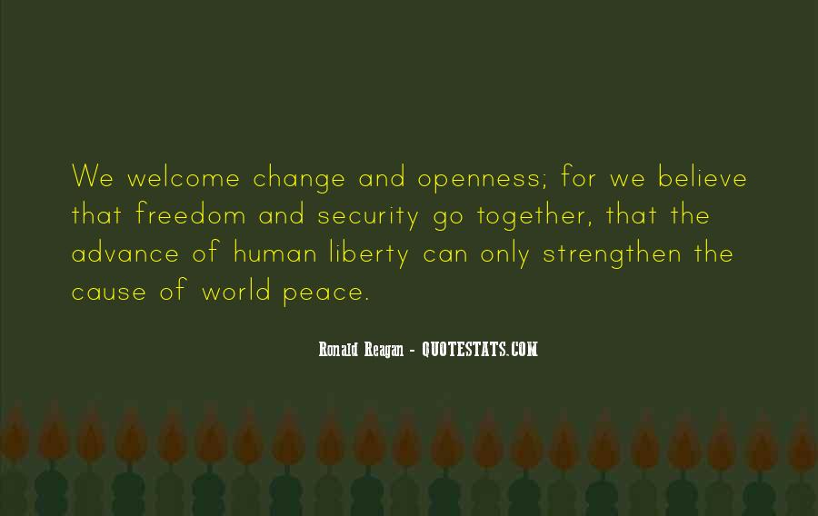 Quotes About World Change #8699