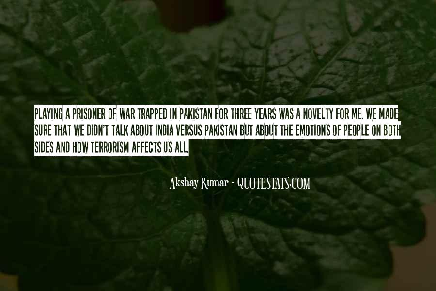 Quotes About Terrorism In India #795504